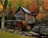 Glade Creek Grist Mill, VIRGINIA, USA